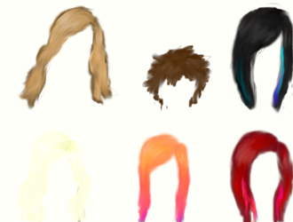 Hair study 2 by Zephy10