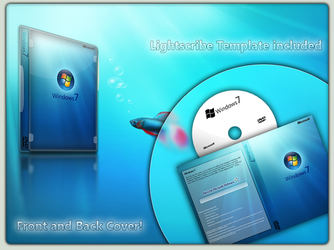 Windows 7 DVD Cover by patrickgs