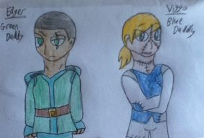 HBFD: Edger and Viggo Profile Pic by WritterInTheArtHat
