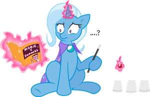 Trixie in: Magic 4 Dummies COLORED by Drewdini