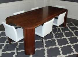 Walnut Dining Table by belakwood