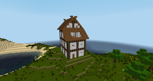 half-timber house 0.1 by mikadoboy82