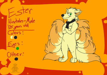 Ester ref by Captain-Grizzly