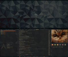[arch] [awesomewm] July Desktop 2014 (v2) by f-s0ciety