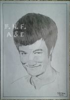 Bruce Lee by BNFlores