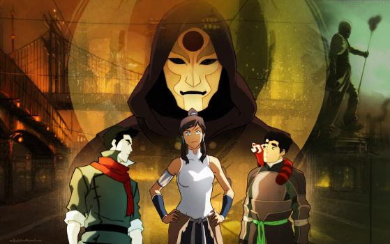Legend of Korra - The New Team Avatar by Mochito