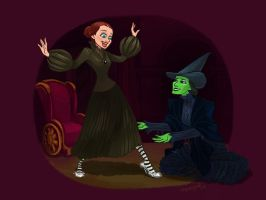 Wicked witch of the East by squeegool
