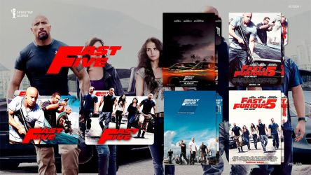 Fast Five (2011) Folder Icon by sebasmgsse