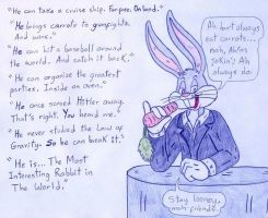 The Most Interesting Rabbit In The World by Jose-Ramiro