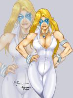 Dazzler Walden Wong and M.C. Wyman by THE-Darcsyde