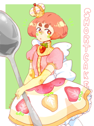 Shortcake by Artist-squared