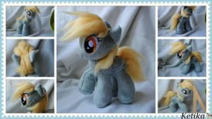 Derpy Hooves pony plush by KetikaCraft