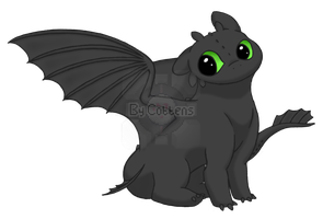 Toothless by Fleepeur