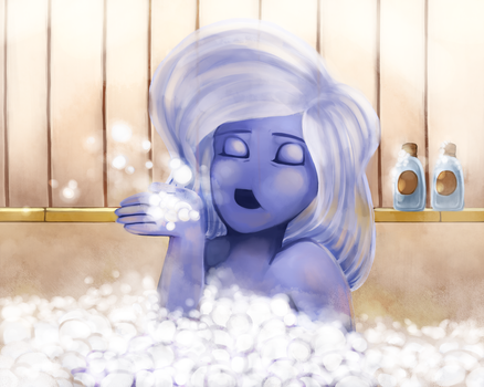 Collab: Bubble Time Fun Time by Chicky--poo