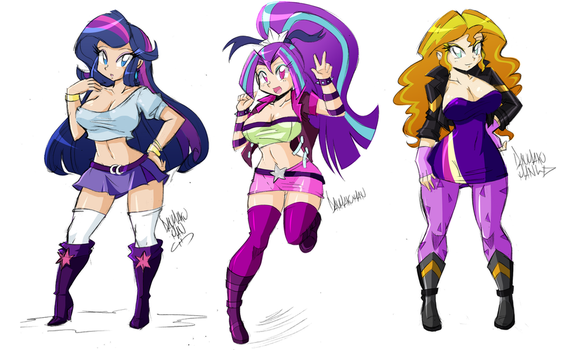 Commission: Fusions by DANMAKUMAN
