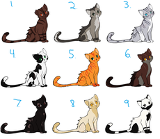 Scarred WCat Adoptables ~Closed by Sukida-Adopts