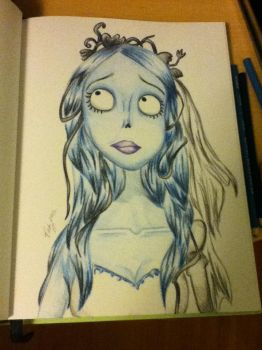 Corpse Bride by vckyeg