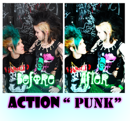 Ps Action 'Punk' by Tokiox483xFery