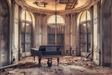 The Grand Piano by Matthias-Haker