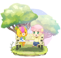 ACNL Commission (Stitches) by Felynea