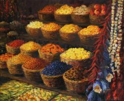 Palette of The Orient by kirilart