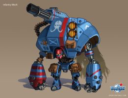 Infantry Mech by emersontung