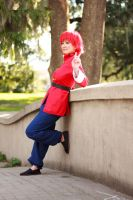 Female Ranma Cosplay: Peace by firecloak