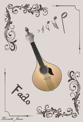 Fado guitar by Jaanos