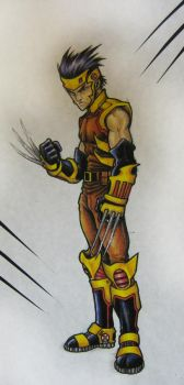 Wolverine Redesign by Antman2012