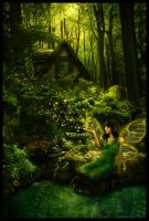 Forest Fae by RebeccaFrank