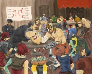 Armwrestling by cb350four