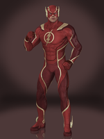 The Flash by Sticklove