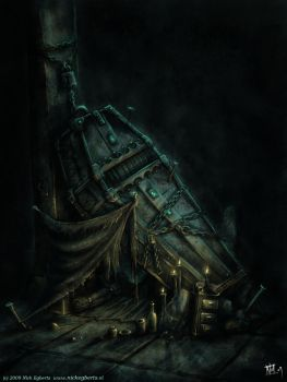 Coffin shelter by mr-nick
