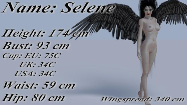 Selene - Measurements by mrmorfium