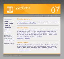 business design template by F05310019
