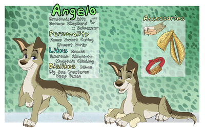 Angelo Reference Sheet by Brontonia