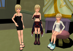 Namine Models by Reseliee