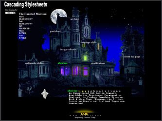 The Haunted Mansion CSS-CV by makatak1