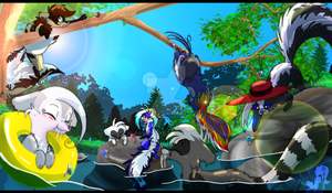 Summer Lunch - inkl SpeedPaint by JB-Pawstep