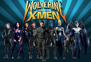 Wolverine and the X-Men by ArkhamNatic