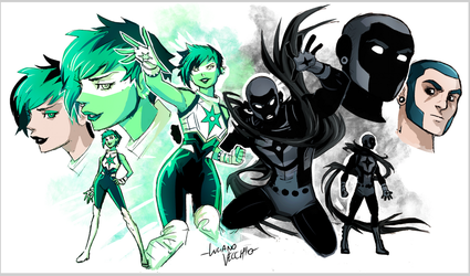 Jade and Obsidian by LucianoVecchio