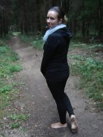 On the soft forest path by barefootersk