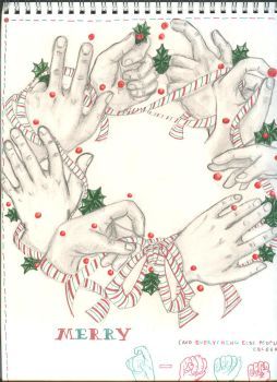 Hand Wreath by fishAUciel