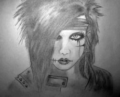 Andy Biersack by Imbadoodles