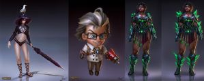 New Smite Concepts! by PTimm
