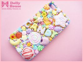 iPhone 4 case -Lovelly Sweets- by Dolly House by SweetDollyHouse