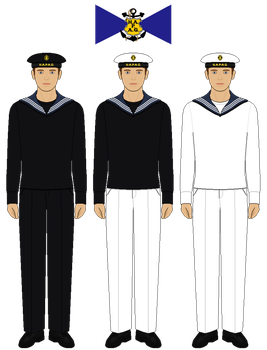HAPAG Sailor Uniforms by tsd715