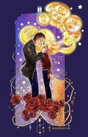 9th Doctor and Rose Tyler. Doctor Who by aimeekitty
