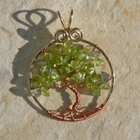 Gold and Copper Spring Tree of Life by magpie-poet