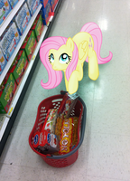 Fluttershy wants juice... by LudiculousPegasus